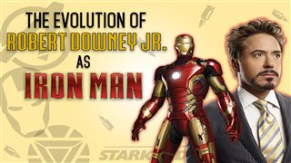 The Evolution of Robert Downey Jr. as Iron Man video
