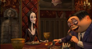 "'The Addams Family' Movie Clip - ""The Addams Family Dinner"" video"