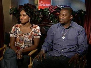 This Christmas Sharon Leal.Sharon Leal Mekhi Phifer This Christmas Interview 2007