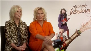Absolutely Fabulous - Talking with the Stars video