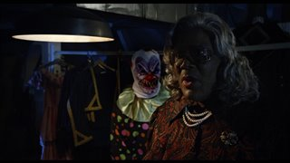 "Tyler Perry's BOO! A Madea Halloween Movie Clip - ""Attic Clown"" video"