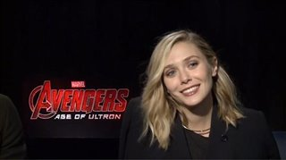 Aaron Taylor-Johnson & Elizabeth Olsen (Avengers: Age of Ultron) - Interview Video Thumbnail
