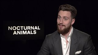 Aaron Taylor-Johnson Interview - Nocturnal Animals Video Thumbnail