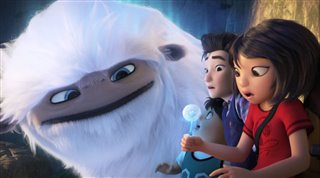"'Abominable' Movie Clip - ""Everest and the Kids Escape on a Giant Dandelion"" Video Thumbnail"