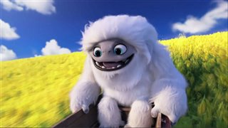 "'Abominable' Movie Clip - ""Everest and the Kids Surf a Field of Flowers"" Video Thumbnail"