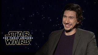 Adam Driver Interview - Star Wars: The Force Awakens Video Thumbnail