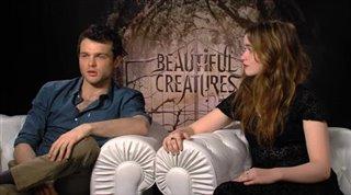 Alden Ehrenreich & Alice Englert (Beautiful Creatures)- Interview Video Thumbnail