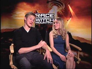Alexander Ludwig & AnnaSophia Robb (Race to Witch Mountain) - Interview Video Thumbnail