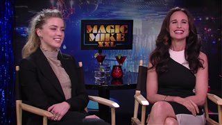 Amber Heard & Andie MacDowell Interview - Magic Mike XXL Video Thumbnail
