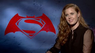 Amy Adams Interview - Batman v Superman: Dawn of Justice Video Thumbnail
