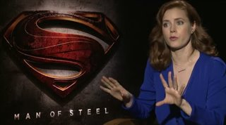 Amy Adams (Man of Steel) - Interview Video Thumbnail