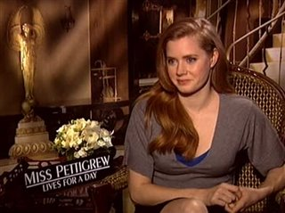Amy Adams (Miss Pettigrew Lives for a Day) - Interview Video Thumbnail