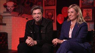 Andy Muschietti & Barbara Muschietti talk 'IT: Chapter Two'- Interview Video Thumbnail
