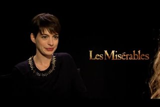Anne Hathaway (Les Misérables)- Interview Video Thumbnail