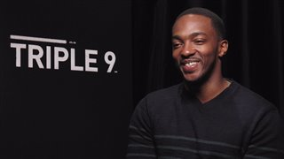 Anthony Mackie - Triple 9- Interview Video Thumbnail