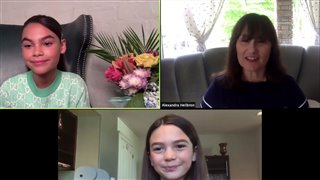 Ariana Greenblatt & Brooklyn Prince talk THE ONE AND ONLY IVAN - Interview Video Thumbnail