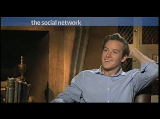 Armie Hammer (The Social Network) - Interview Video Thumbnail