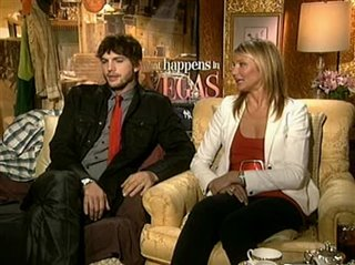 Ashton Kutcher & Cameron Diaz (What Happens in Vegas)- Interview Video Thumbnail