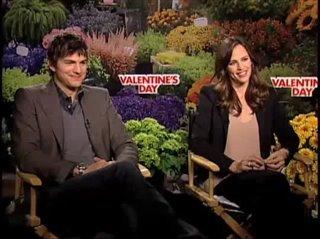 Ashton Kutcher & Jennifer Garner (Valentine's Day) - Interview Video Thumbnail