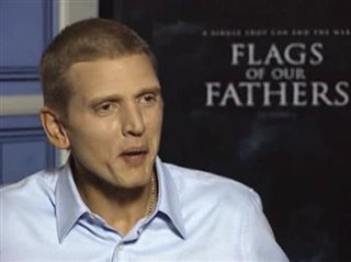 BARRY PEPPER (FLAGS OF OUR FATHERS) - Interview Video Thumbnail