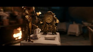 "Beauty and the Beast Movie Clip - ""Lumière Plots Romance"" Video Thumbnail"