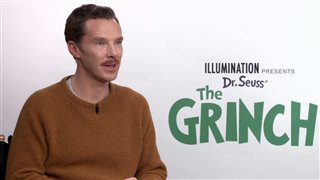 benedict-cumberbatch-talks-dr-seuss-the-grinch Video Thumbnail