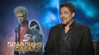 Benicio Del Toro (Guardians of the Galaxy)- Interview Video Thumbnail