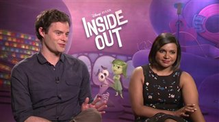 bill-hader-mindy-kaling-inside-out Video Thumbnail