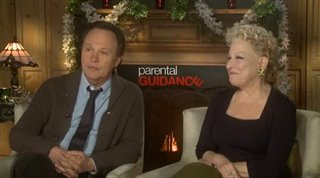 Billy Crystal & Bette Midler (Parental Guidance)- Interview Video Thumbnail