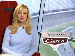 BONNIE HUNT (CARS)- Interview Video Thumbnail