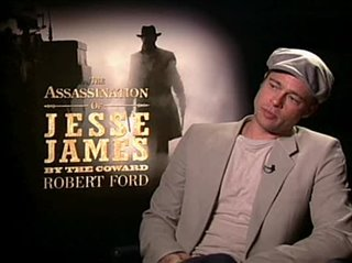 Brad Pitt (The Assassination of Jesse James by The Coward Robert Ford)- Interview Video Thumbnail