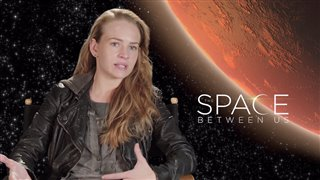 britt-robertson-interview-the-space-between-us Video Thumbnail