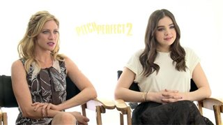 Brittany Snow & Hailee Steinfeld (Pitch Perfect 2)- Interview Video Thumbnail