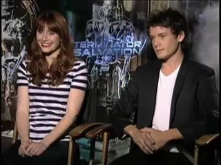 Anton Yelchin & Bryce Dallas Howard (Terminator Salvation)- Interview Video Thumbnail