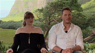 bryce-dallas-howard-chris-pratt-interview-jurassic-world-fallen-kingdom Video Thumbnail