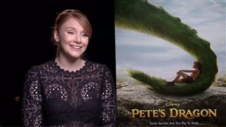 bryce-dallas-howard-interview-petes-dragon Video Thumbnail