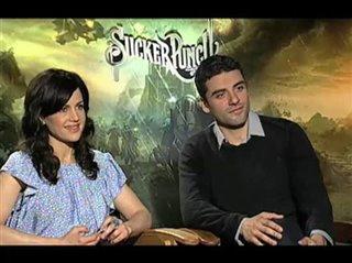 Carla Gugino & Oscar Isaac (Sucker Punch)- Interview Video Thumbnail