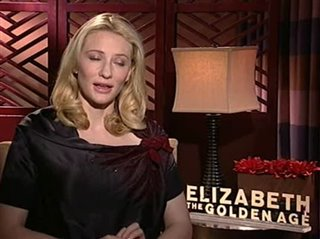 Cate Blanchett (Elizabeth: The Golden Age)- Interview Video Thumbnail