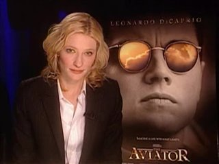 CATE BLANCHETT - THE AVIATOR- Interview Video Thumbnail