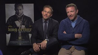 Charlie Hunnam & Guy Ritchie - King Arthur: Legend of the Sword- Interview Video Thumbnail