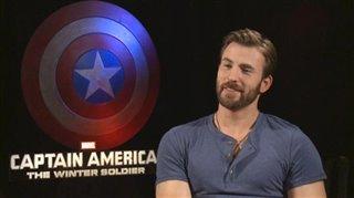 Chris Evans (Captain America: The Winter Soldier)- Interview Video Thumbnail