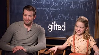 chris-evans-mckenna-grace-interview-gifted Video Thumbnail
