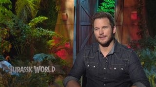 Chris Pratt (Jurassic World)- Interview Video Thumbnail