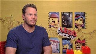 Chris Pratt (The LEGO Movie) - Interview Video Thumbnail