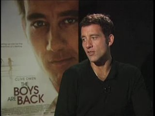 Clive Owen (The Boys are Back)- Interview Video Thumbnail