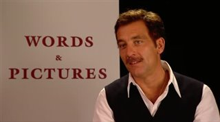 Clive Owen (Words and Pictures)- Interview Video Thumbnail