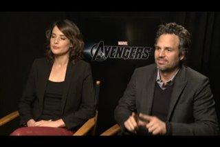 Cobie Smulders & Mark Ruffalo (The Avengers)- Interview Video Thumbnail