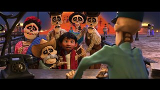 "Coco Movie Clip - ""Anything To Declare?"" Video Thumbnail"