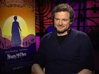COLIN FIRTH (NANNY MCPHEE) - Interview Video Thumbnail