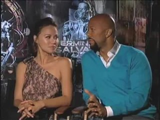 Common & Moon Bloodgood (Terminator Salvation)- Interview Video Thumbnail